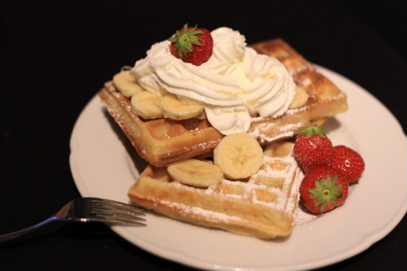 best waffles in brussels workshop